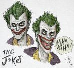 The Joker sketches by GarrettByers