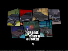 GTA III Liberty City collage by redfill