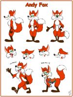 Andy Fox Model Sheet by Goldy--Gry
