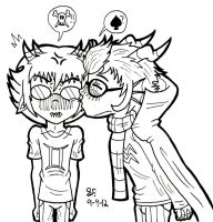 Eridan: Give Sollux a 'Kiss'-mesis by Zalehard13