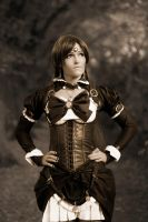 Sailor Pluto [Steampunk] by leashed-freak