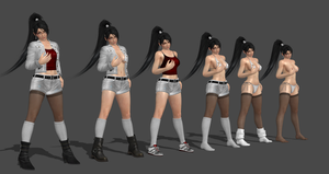 Momiji Casual Battle Re-make Completed by bstylez
