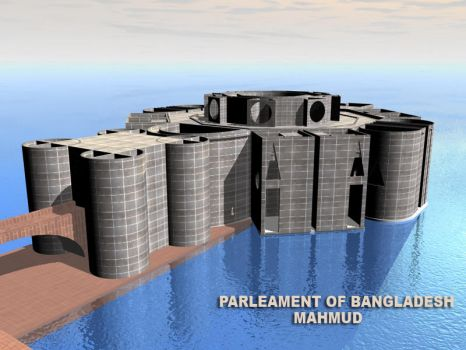 PARLEAMENT OF BANGLADESH by mahmud3d