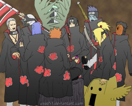 Deadly Akatsuki clean by osy057