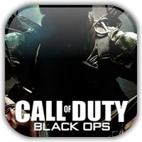 CoD Black Ops Game Icon by Wolfangraul