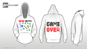 Old Videogame Hoodie by CLoh-Style
