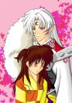 Sesshomaru and Rin Color by Riku1988