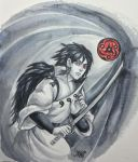 Indra Otsutsuki. The First One With Sharingan. by loonelybird