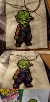 Pixel art Piccolo by WalnutSprout