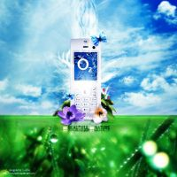 O2 mobile phone design by NSTYLEART