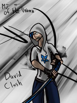 David Clash (gifty for NeoNimbus) by MJ-OF-THE-UNIVERSE