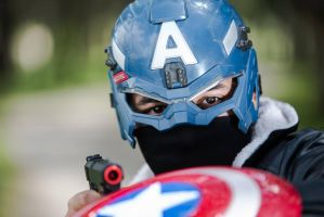 Cosplay  Captain America - 01 by slayer500