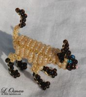 Bead Cat 1, Siamese Cat by hermitworm
