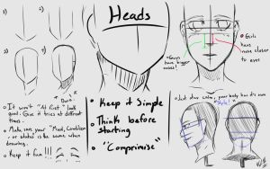 Heads Tutorial by NobleCrimson
