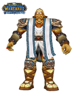 WoW Titan Male Cut Out by atagene