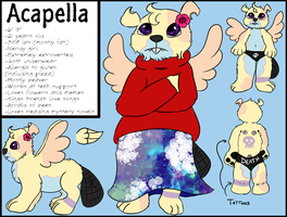 Acapella - Blind Date OC by MommaNessy