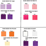 My Little Pony Plush Tutorial P2: Color Guide by RedtheSaint