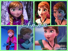 Princess Anna of Arendelle by DifferentButReal
