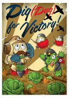 Dig Dug for Victory by DarkJimbo