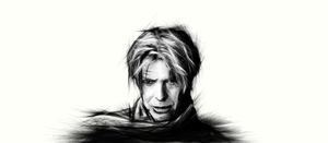 David bowie by DRAIN0-blue