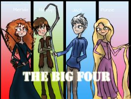 The Big 4 by Zeldamusiclover99