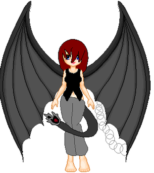 Char - Pixel - Unshaded sorta by Drawing-Forever