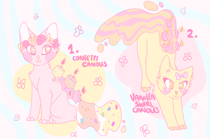 Candlecats 001 // Auction by felicities