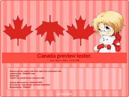 Journal skin: Canadian version by Ashley44598X