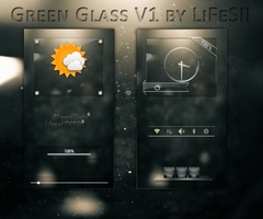 Galaxy S3 Green Glass V1 by LiFeSII