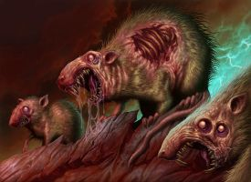 Rotting Rats by DaveAllsop