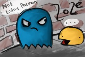 Not today pacman... not today by xZorex