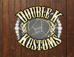 Doube K Kustoms Logo by Rising-High-Ranch