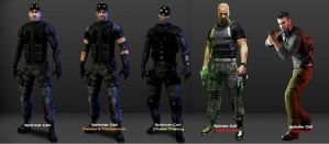 Evolution of Sam Fisher by LidiaForza