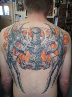 Bio wings 2 by phoenixtattoos