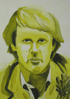 Fifth Doctor Painting by chopper481