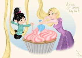 It's make-your-cupcake-pretty time! by DariB