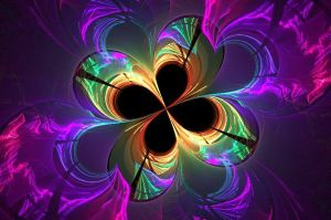 Rainbow Shamrock by BellaElizabethLarsen
