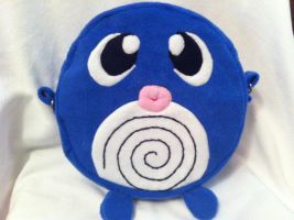 Poliwag purse! (strap missing...) by Eyeheartz0rd