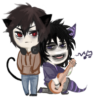 Homestuck : Karkat and Gamzee by Chocef