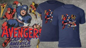 Avengers #4 Shirt by teebuster