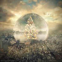 snow globe by evenliu