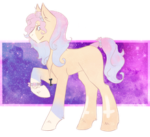 Pastel goth pony OTA :CLOSED: by SamuraiAdopts