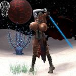 Wasteland Jedi by Chup-at-Cabra