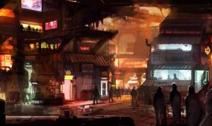 CHROMA - Slums #1 by Minyi