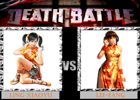 DB  Xiaoyu VS Lei-Fang by KazuyaAlexander
