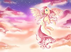 Fluttershy Forever by dreampaw