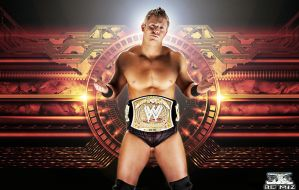 New WWE Champ The Miz by Gogeta126