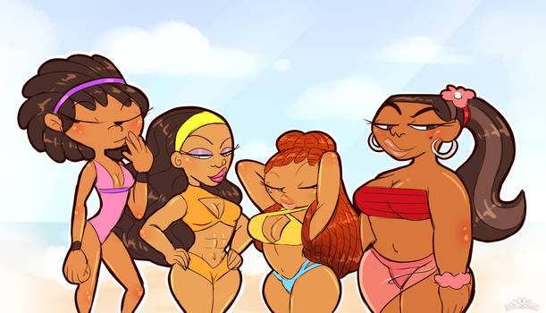 CM: A Melanin Poppin' Summer by PrincessCallyie