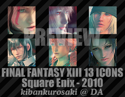 Icon Project: Final Fantasy 13 by KibanKurosaki