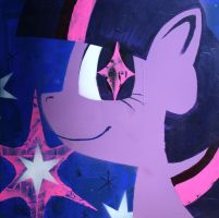 Twilight Sparkle (fim acrylic series) by bagshotrow